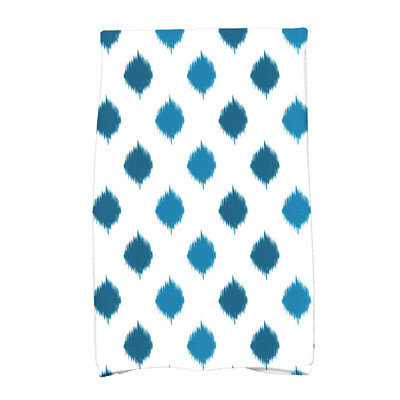 E By Design Hannukah Hand Towel Color: Teal