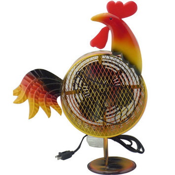 WBM HBM7006 Himalayan Breeze Decorative Fan Rooster Medium