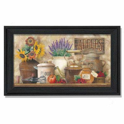Millwork Engineering Antique Kitchen' Framed Art