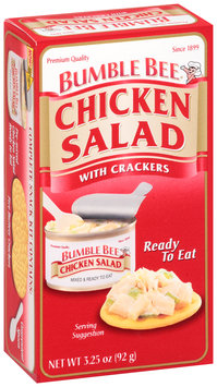 Bumble Bee® Ready to Eat Chicken Salad with Crackers 3.25 oz. Box