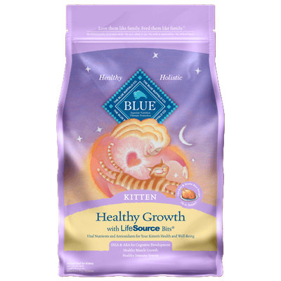 THE BLUE BUFFALO CO. BLUE™ Healthy Growth Chicken & Brown Rice Recipe For Kittens