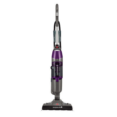 Bissell - Symphony Pet Upright Vacuum And Steam Mop - Grapevine Purple