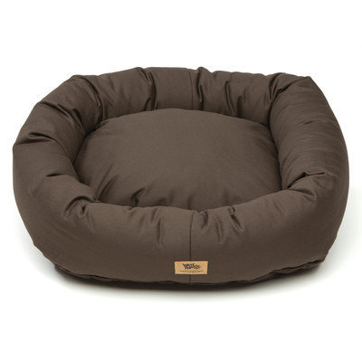 West Paw Design West Paw Cotton Bumper Dog Bed Coffee XXL