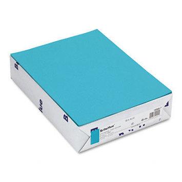 MOHAWK FINE PAPERS 102657 Brite-hue Multipurpose Colored Paper 24lb 8-1/2 X 11 Sea Blue 500 Sheets/rm