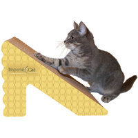 Imperial Cat Rub And Ramp Cat Scratcher - Color: Honeycomb
