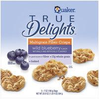 True Delights Wild Blueberry Multigrain Fiber Crisps 7 Oz Box
