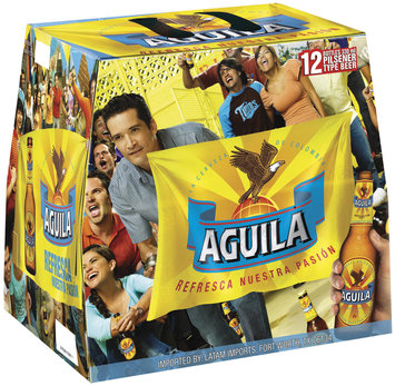 Aguila Secondary Pack 12 Oz Beer 12 Pk Bottles