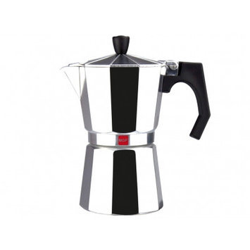Magefesa Kenia Aluminum 3 Cups Coffee Maker Finish: Aluminum