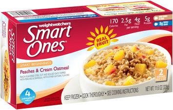 WeightWatchers® Smart Ones® Smart Beginnings Peaches & Cream Oatmeal 11.6 oz Box