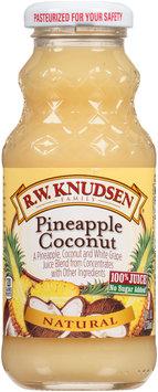 R.W. Knudsen Family® Natural Pineapple Coconut 100% Juice 8 fl. oz. Bottle