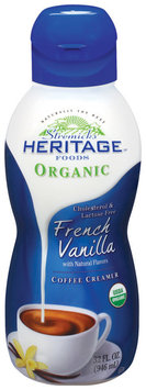 Stremicks Heritage Foods® Organic French Vanilla Coffee Creamer