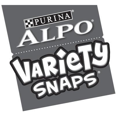 Purina ALPO Treats Variety Snaps Logo