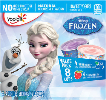 Yoplait® Disney Low Fat Yogurt Variety Packs