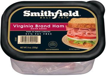 Smithfield® Deli Thin Virginia Brand Ham 9 oz. Tub