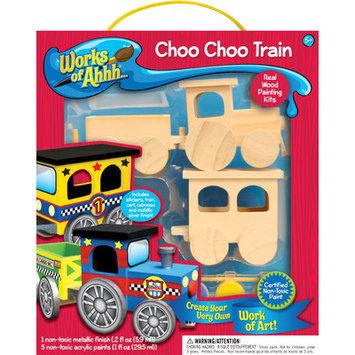 MasterPieces Works Of Ahhh Choo Choo Train Painting Kit