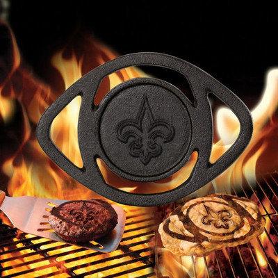Pangea Brands NFL Single BBQ Branders NFL Team: New Orleans Saints