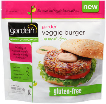 gardein™ Garden Veggie Burger 4 ct. Bag