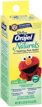 Baby Orajel™ Naturals Homeopathic Teething Pain Relief Gel 0.33 oz. Tube