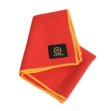 Natural Fitness Yoga Hand Towel- Red Rock/Sun