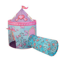 KidKraft Castle Tent with Tunnel (Pink)