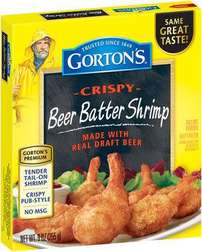 Gorton's® Crispy Beer Battered Shrimp 9 oz. Box