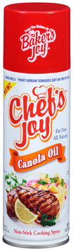 Chef's Joy™ Canola Oil Non-Stick Cooking Spray 5 oz. Can