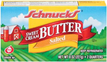 Schnucks Sweet Cream Salted Butter 8 Oz Box