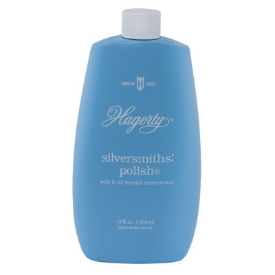 Hagerty 10120 Silversmiths' Silver Polish, 12oz.