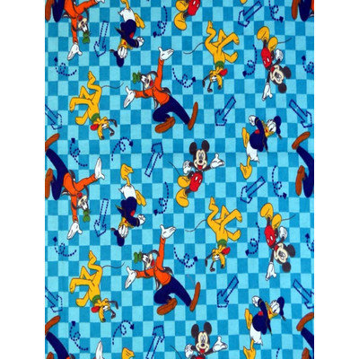 Stwd Mickey Mouse and Friends Crib Sheet