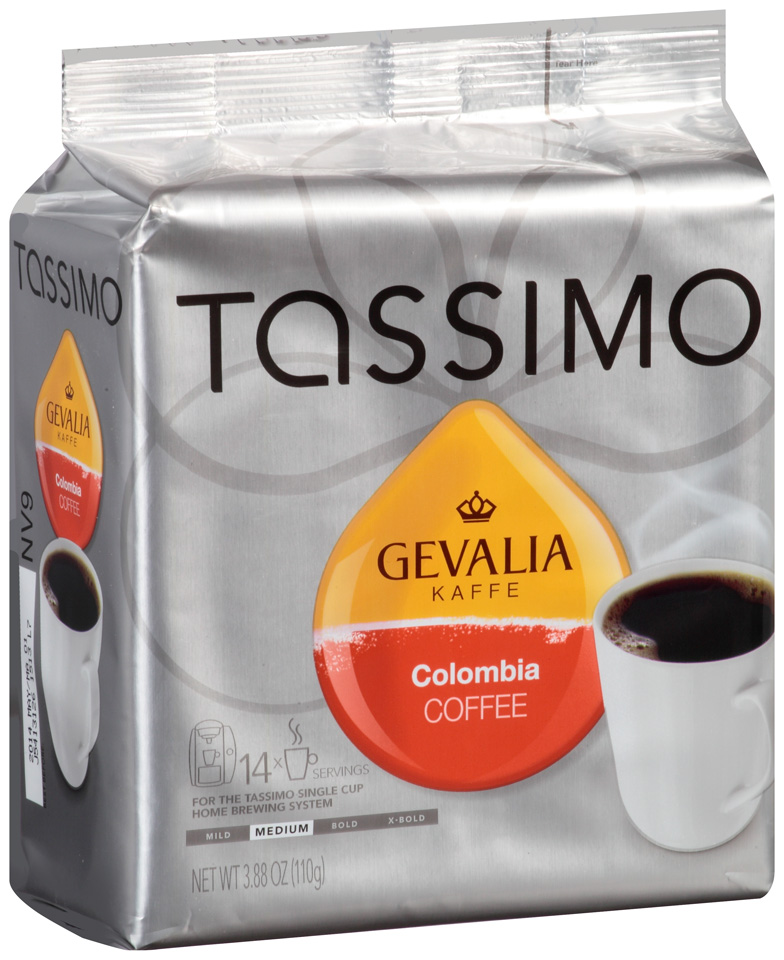 Tassimo Gevalia Colombia Coffee T Discs 14 ct. Bag