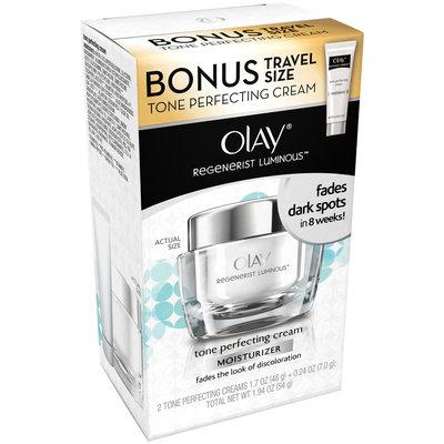 Olay Regenerist Luminous Tone Perfecting Cream Moisturizer with Travel Size Tone Perfecting Cream Moisturizer Set