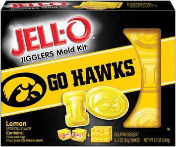 Jell-O Jigglers University of Iowa Mold Kit with Lemon