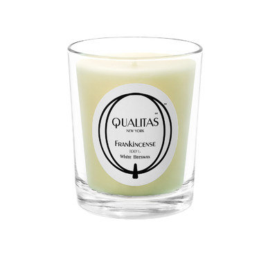 Qualitas Candles Beeswax Frankincense Scented Candle