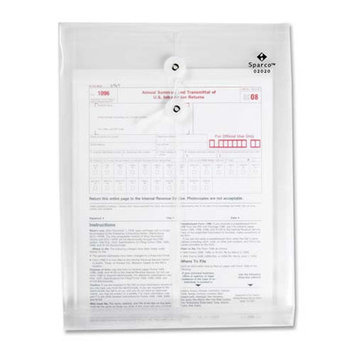 Sparco Products Inter-Departmental Poly Envelope, Top Opening, 10