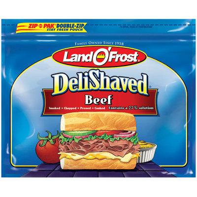 Land O' Frost Deli Shaved Beef 7.5 oz Zip Pak