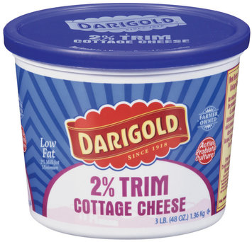 Darigold 2% Trim Low Fat Cottage Cheese