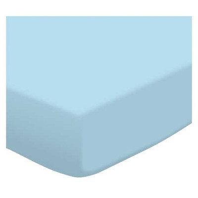 Stwd Flannel Crib Sheet Color: Aqua Blue