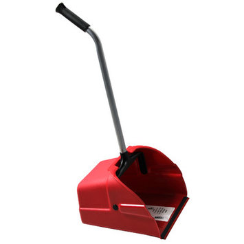 Laitner Brush Company 12 Jumbo Lobby Dustpan With Long Hand