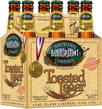 Blue Point Brewing Company Toasted Lager Beer 6-12 fl. oz. Bottles