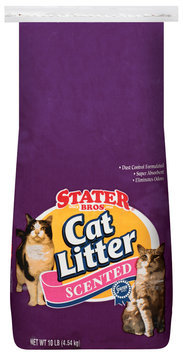 Stater Bros. Scented Cat Litter 10 Lb Stand Up Bag