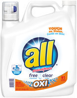 all® OXI Laundry Detergent 91 Loads 162 fl. oz. Bottle