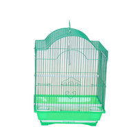 Yml Cornerless Round Top Shape Bird Cage Color: Green