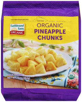 Earthbound Farm® Organic Pineapple Chunks 10 oz. Bag
