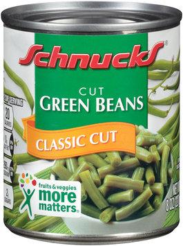 Schnucks® Classic Cut Green Beans 8 oz. Can