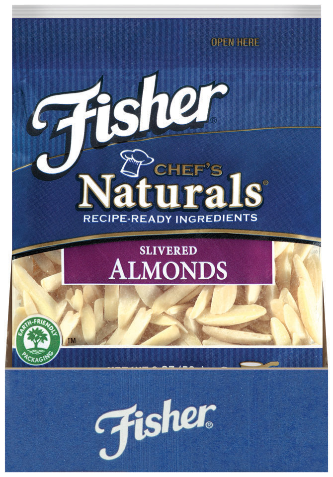 Fisher® Chef's Naturals® Slivered Almonds
