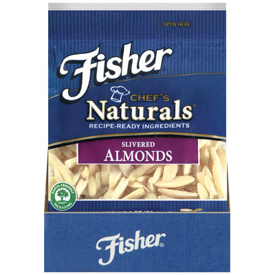 Fischer® Chef's Naturals® Slivered Almonds 2 oz Bag