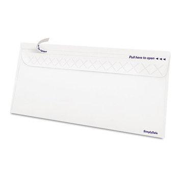 Ampad Gold Fibre SimplySafe Business Envelope, Self-Adhesive, White, 500/Box