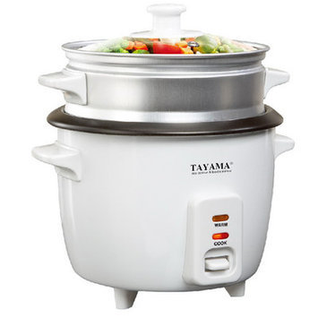 Tayama 8-Cup Rice Cooker with Steam Tray