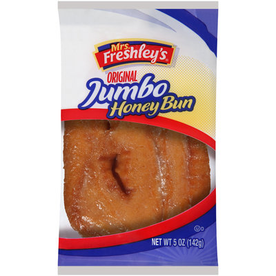 Mrs. Freshley's® Original Jumbo Honey Bun 5 oz. Wrapper