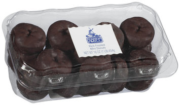 Dutch Mill Rich Frosted Mini Donuts 16 Oz Clamshell